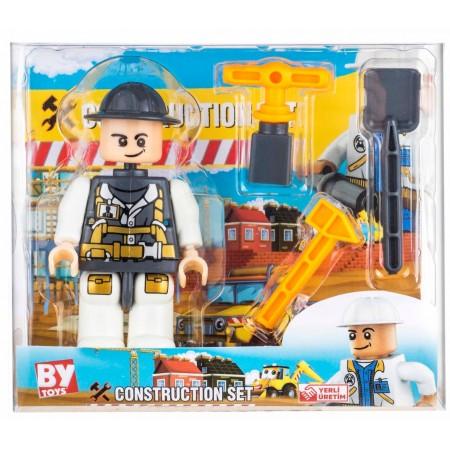 Toptan İnsaatcı Lego Oyuncak Adam