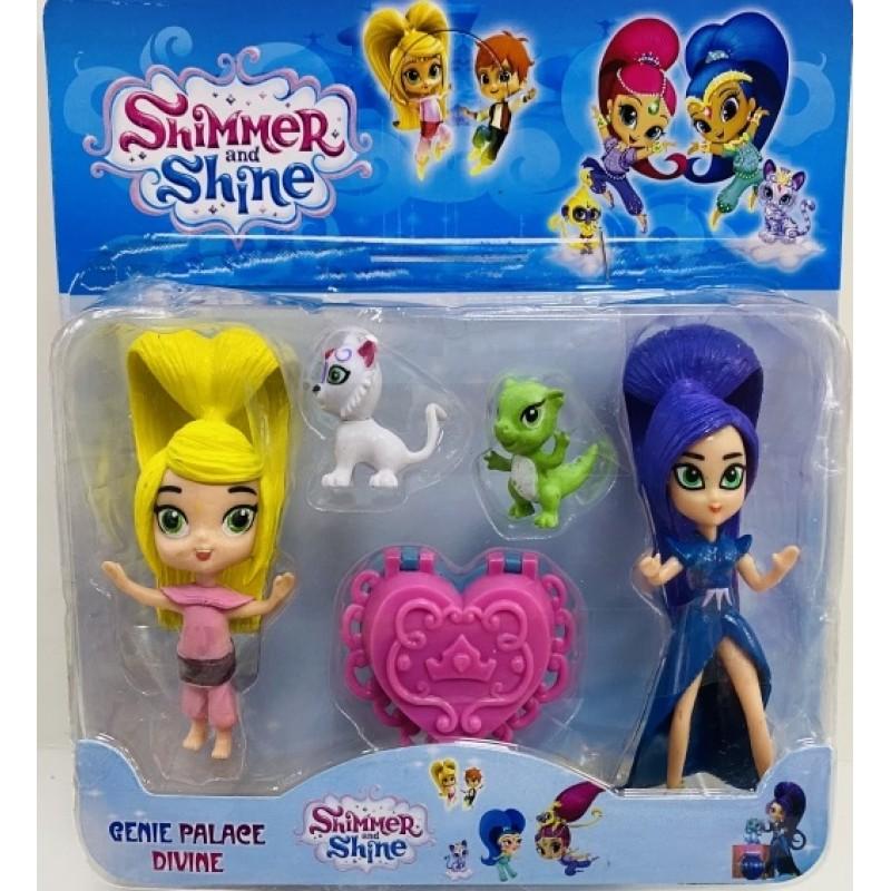 Toptan Shimmer And Shine Sihirbaz Kızlar 2 Li