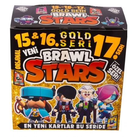 Toptan Brawl Stars Kart Oyunu 15 16 17 Gold Seri