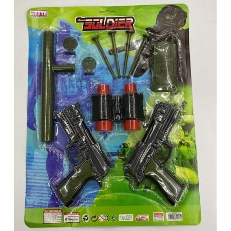 Toptan 2 Li Silah Dürbünlü Polis Seti