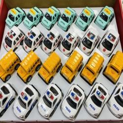 Toptan Metal Araba Taksi Ambulans Polis Ve Otobüs Oyuncak