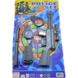 Toptan Tufekli Polis Seti Oyuncak