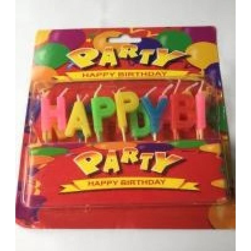 Toptan Renkli Happy Bırthday Mum