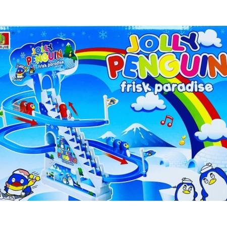 Toptan Jolly Penguın Park Kaydırak Oyunu