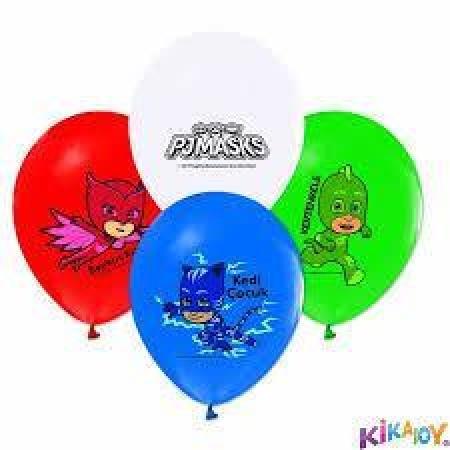 Toptan Pijamaskeliler Baskılı Balon