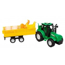 Toptan Oyuncak Yumurta Tavuk Taşıyan Traktör